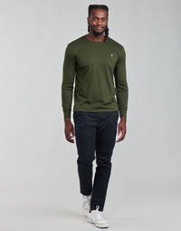 tekstylia Męskie Spodnie z pięcioma kieszeniami Polo Ralph Lauren ALLINE Czarny