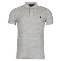 tekstylia Męskie Koszulki polo z krótkim rękawem Polo Ralph Lauren DOLINAR Szary