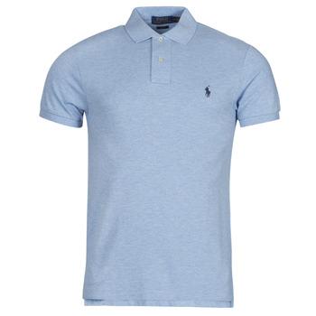 tekstylia Męskie Koszulki polo z krótkim rękawem Polo Ralph Lauren DOLINAR Niebieski
