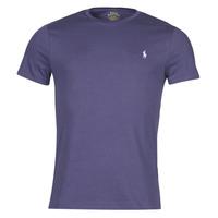 tekstylia Męskie T-shirty z krótkim rękawem Polo Ralph Lauren OLITA Niebieski
