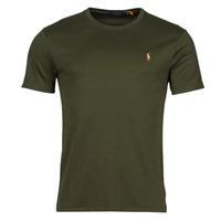 tekstylia Męskie T-shirty z krótkim rękawem Polo Ralph Lauren TEKAMO Kaki
