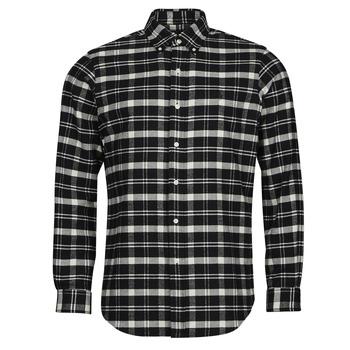 tekstylia Męskie Koszule z długim rękawem Polo Ralph Lauren PERINE Czarny