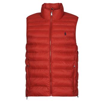 tekstylia Męskie Kurtki pikowane Polo Ralph Lauren PEROLINA Czerwony