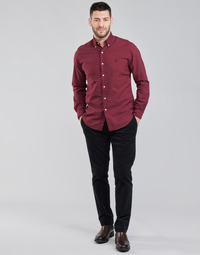 tekstylia Męskie Spodnie z pięcioma kieszeniami Polo Ralph Lauren RETOMBA Czarny