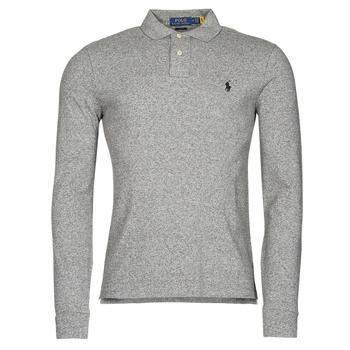 tekstylia Męskie Koszulki polo z długim rękawem Polo Ralph Lauren TREKINA Szary