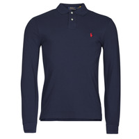 tekstylia Męskie Koszulki polo z długim rękawem Polo Ralph Lauren TREKINA Niebieski