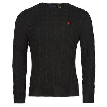 tekstylia Męskie Swetry Polo Ralph Lauren SERINA Czarny