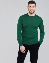 tekstylia Męskie Swetry Polo Ralph Lauren AMIRAL Zielony