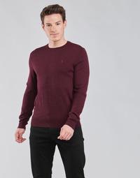 tekstylia Męskie Swetry Polo Ralph Lauren AMIRAL Bordeaux