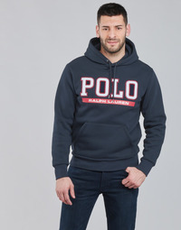 tekstylia Męskie Bluzy Polo Ralph Lauren TREDY Marine