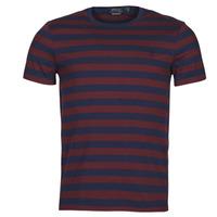 tekstylia Męskie T-shirty z krótkim rękawem Polo Ralph Lauren POLINE Marine / Bordeaux