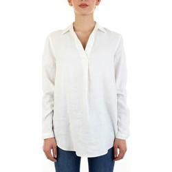 tekstylia Damskie Topy / Bluzki Calvin Klein Jeans 9436221 Biały