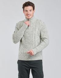 tekstylia Męskie Swetry Superdry JACOB HENLEY Szary