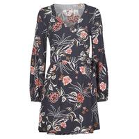 tekstylia Damskie Sukienki krótkie Roxy SIMPLY STATED Niebieski