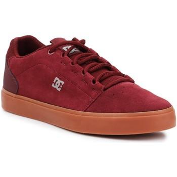 Buty Męskie Buty skate DC Shoes DC Hyde ADYS300580-BUR bordowy