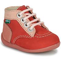 Buty Dziewczynka Buty za kostkę Kickers BONZIP-2 Różowy