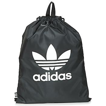 Torby Plecaki adidas Originals GYMSACK TREFOIL Czarny