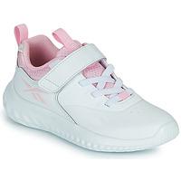 Buty Dziewczynka Trampki niskie Reebok Sport RUSH RUNNER Biały / Różowy