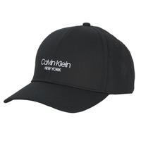 Dodatki Czapki z daszkiem Calvin Klein Jeans CK NY BB CAP Czarny