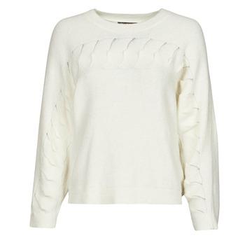 tekstylia Damskie Swetry Chattawak SWEETY Biały