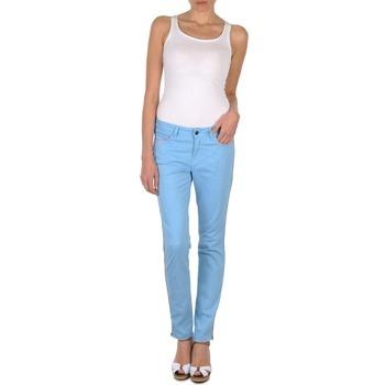 tekstylia Damskie Spodnie z pięcioma kieszeniami Brigitte Bardot AUBE Niebieski