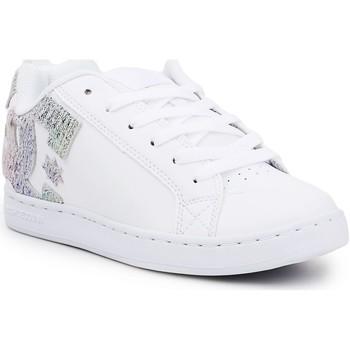 Buty Damskie Trampki niskie DC Shoes Buty lifestylowe DC Court Graffik 300678-TRW biały