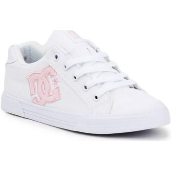 Buty Damskie Trampki niskie DC Shoes Buty lifestylowe DC Chelsea ADJS300243-WPW biały