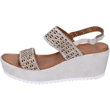 Buty Damskie Sandały Femme Plus BJ892 Beżowy