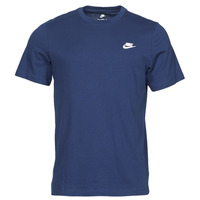 tekstylia Męskie T-shirty z krótkim rękawem Nike NIKE SPORTSWEAR CLUB Niebieski / Biały