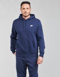 tekstylia Męskie Bluzy Nike NIKE SPORTSWEAR CLUB FLEECE Marine / Biały