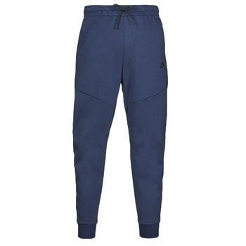 tekstylia Męskie Spodnie dresowe Nike NIKE SPORTSWEAR TECH FLEECE Marine / Czarny