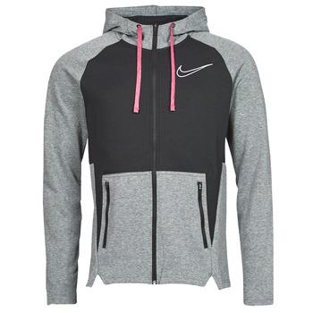 tekstylia Męskie Bluzy Nike M NK TF HD FZ NVLTY Czarny / Biały