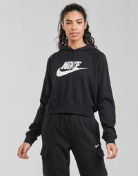 tekstylia Damskie Bluzy Nike NIKE SPORTSWEAR ESSENTIAL Czarny / Biały