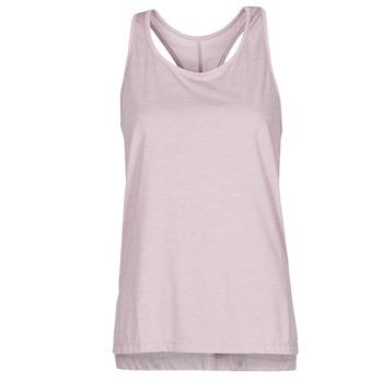 tekstylia Damskie Topy na ramiączkach / T-shirty bez rękawów Nike NIKE YOGA Fioletowy