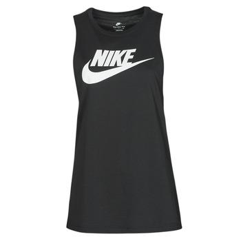 tekstylia Damskie Topy na ramiączkach / T-shirty bez rękawów Nike NIKE SPORTSWEAR Czarny / Biały