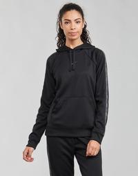 tekstylia Damskie Bluzy Nike W NSW PK TAPE PO HOODIE Czarny