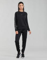 tekstylia Damskie Spodnie dresowe Nike W NSW PK TAPE REG PANT Czarny