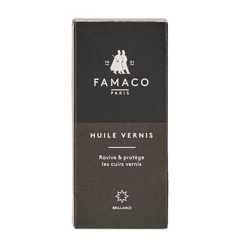 Dodatki Produkty do pielęgnacji Famaco FLACON HUILE VERNIS 100 ML FAMACO NOIR Czarny