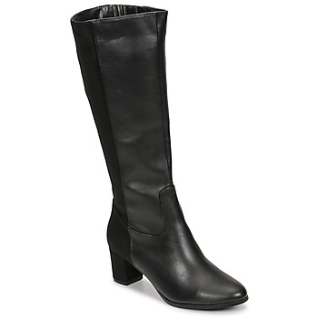 Buty Damskie Kozaki Spot on F50366-BLACK Czarny