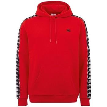 tekstylia Męskie Bluzy dresowe Kappa Igon Sweatshirt Czerwony
