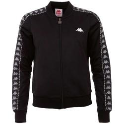 tekstylia Damskie Bluzy dresowe Kappa Imilia Training Jacket Czarny