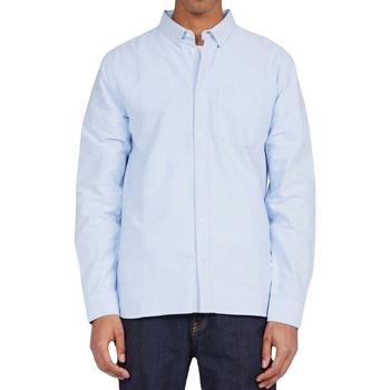 tekstylia Męskie Koszule z długim rękawem DC Shoes Oxford Niebieski