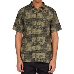 tekstylia Męskie Koszule z krótkim rękawem DC Shoes Tactics Zielony
