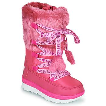 Buty Dziewczynka Śniegowce Agatha Ruiz de la Prada APRESKI Różowy