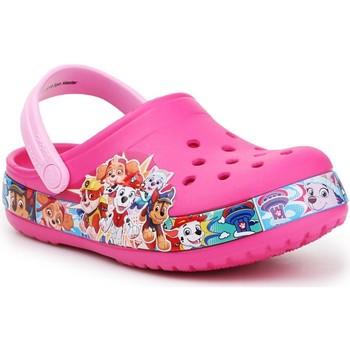 Buty Dziewczynka Chodaki Crocs Psi Patrol FL Paw Patrol Band Clog 205509-670 różowy