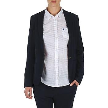 tekstylia Damskie Kurtki / Blezery Marc O'Polo CLOTHILDE Marine