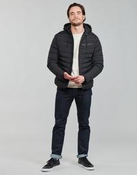 tekstylia Męskie Kurtki pikowane Redskins HARPER LUTETIA Czarny