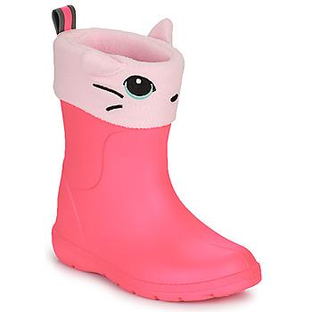 Buty Dziewczynka Kalosze Isotoner 99314 Różowy