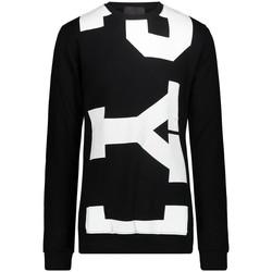 tekstylia Męskie Bluzy Pyrex 21EPB41996 'Czarny/'Biały