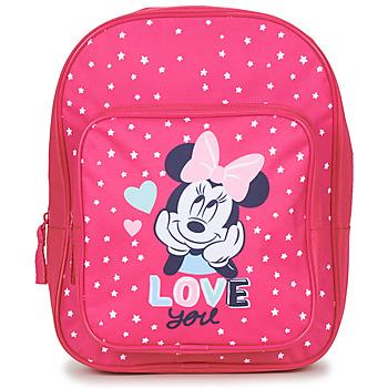 Torby Dziewczynka Plecaki Disney SAC A DOS MINNIE 23 CM Różowy